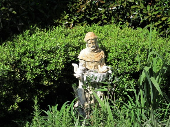 Photo of statue outside Church